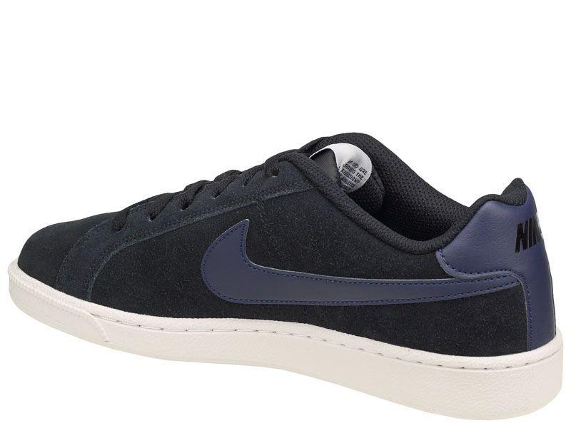 Кеды мужские NIKE COURT ROYALE SUEDE Blue 819802-007 цена обуви, 2017