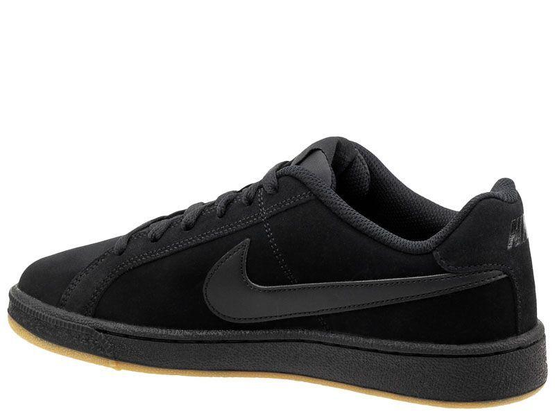 Кеды для мужчин Nike Court Royale Suede Black/Black 819802-008 выбрать, 2017