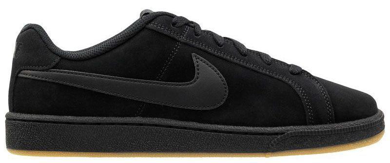 Кеды для мужчин Nike Court Royale Suede Black/Black 819802-008 купить в Интертоп, 2017