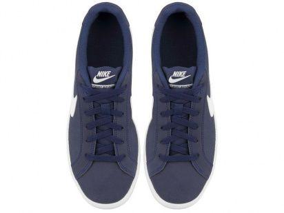 Кеды для мужчин NIKE COURT ROYALE Blue/white 819802-410 размерная сетка обуви, 2017