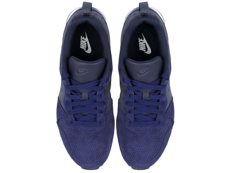 Кроссовки мужские Nike MD RUNNER 2 LEATHER PREM Blue 819834-400 брендовая обувь, 2017
