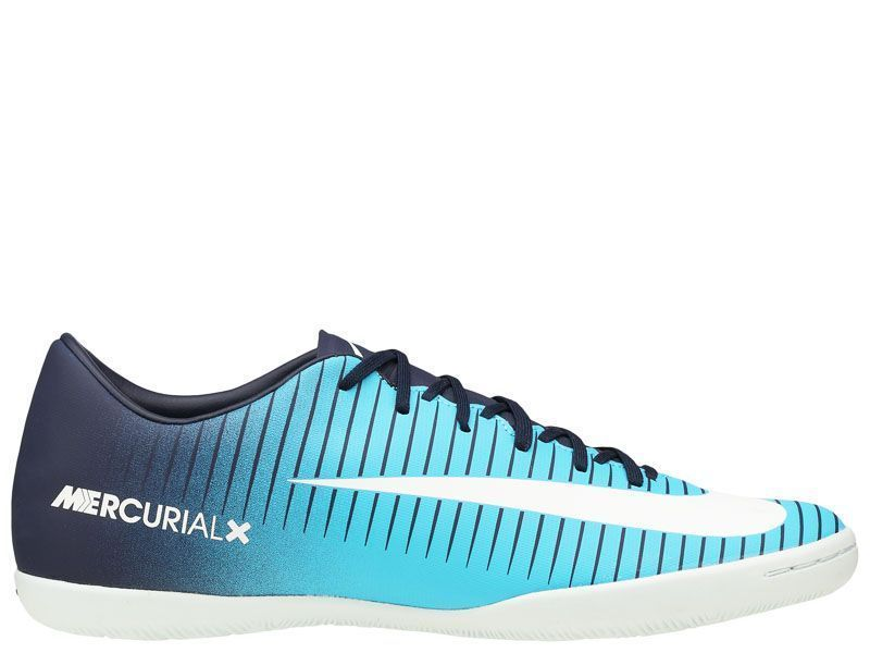 Кроссовки мужские NIKE MERCURIALX VICTORY VI IC M Blue 831966-404 фото обуви, 2017