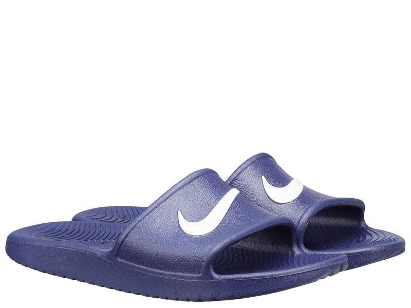 Тапки для мужчин NIKE KAWA SHOWER Blue 832528-400 размеры обуви, 2017