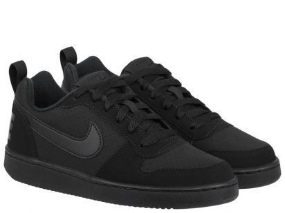 Кроссовки для детей Nike Court Borough Low Kids Black AS 839985-001 , 2017