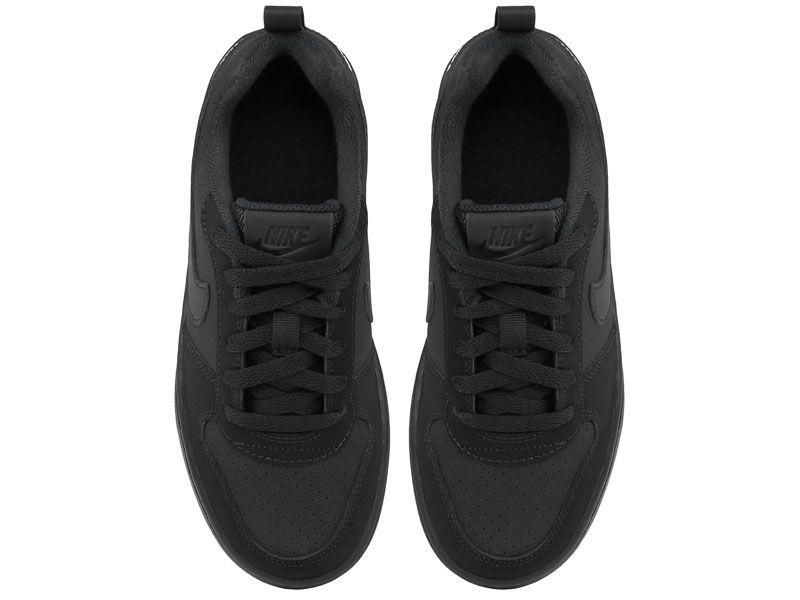 Кроссовки для детей Nike Court Borough Low Kids Black AS 839985-001 выбрать, 2017
