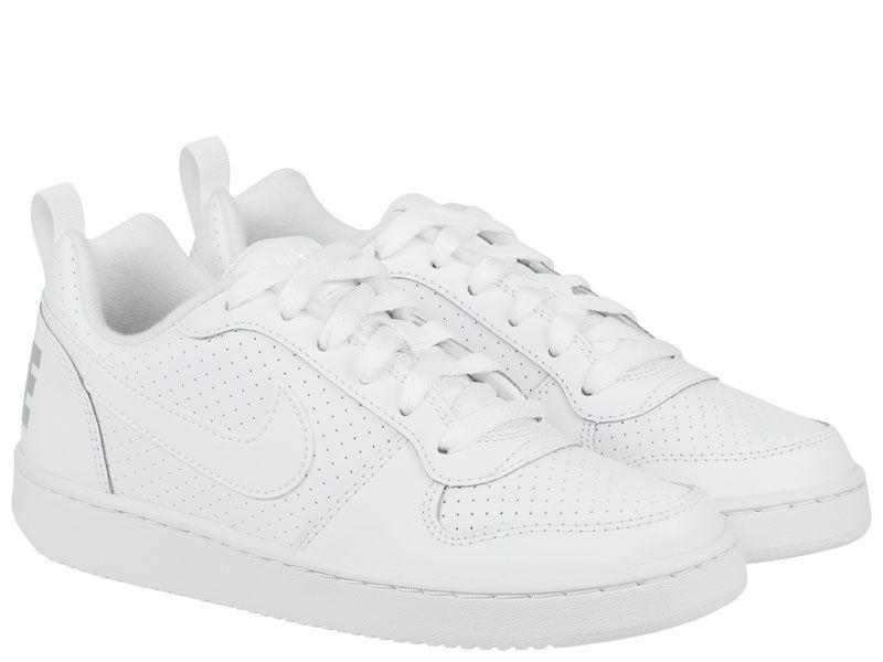 Кроссовки для детей Nike Court Borough Low White AS 839985-100 цена, 2017