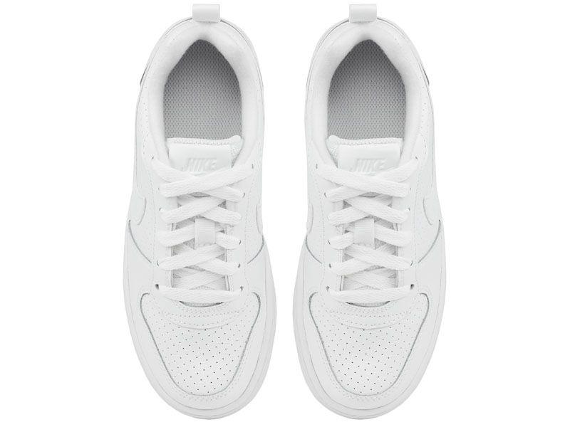 Кроссовки для детей Nike Court Borough Low White AS 839985-100 бесплатная доставка, 2017