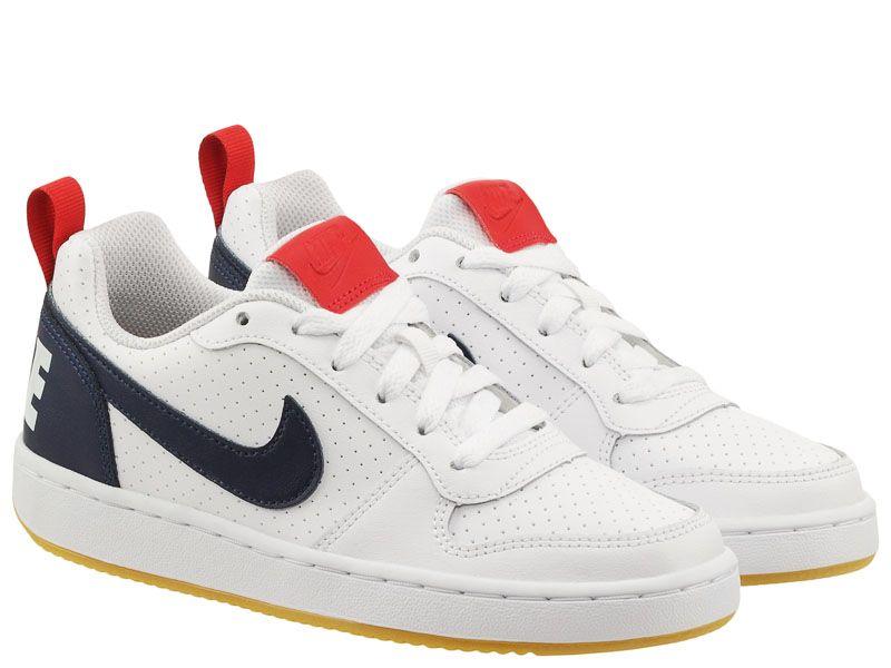 Кроссовки детские Nike Court Borough Low KIds White AS 839985-105