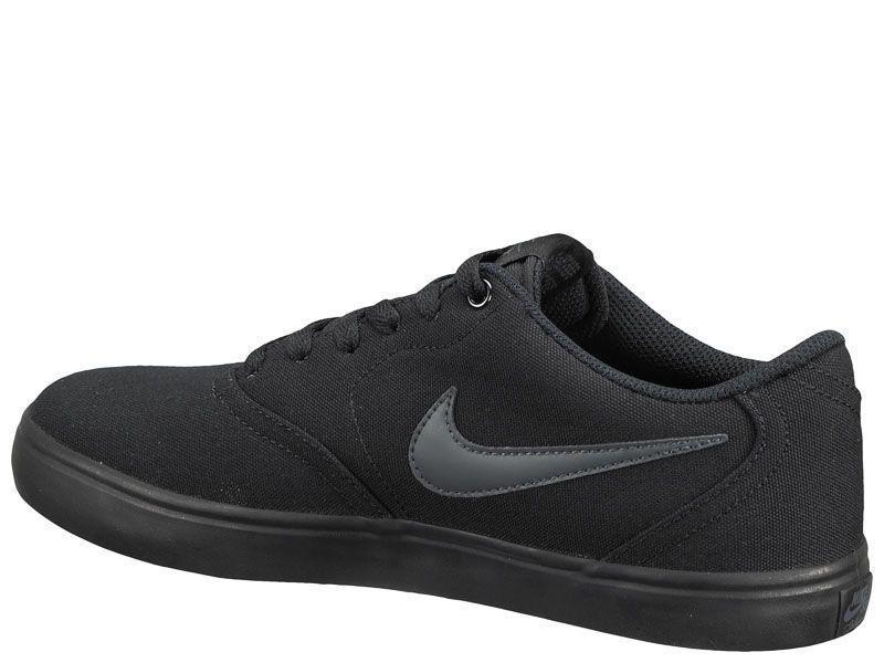 Кроссовки для мужчин NIKE SB CHECK SOLAR CNVS Black 843896-002 продажа, 2017