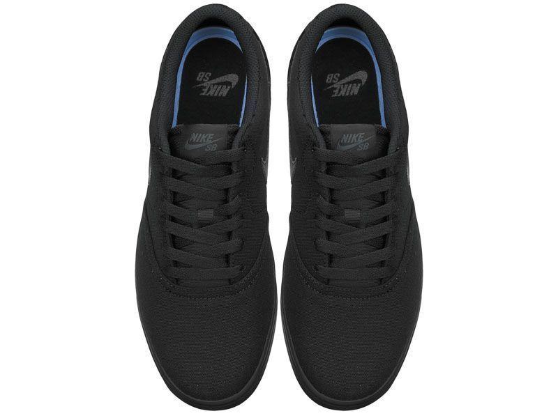 Кроссовки для мужчин NIKE SB CHECK SOLAR CNVS Black 843896-002 фото обуви, 2017