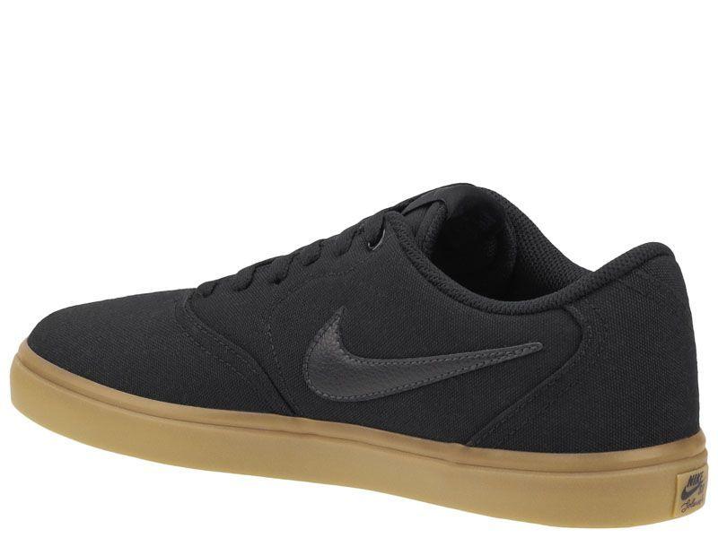 Кеды для мужчин Nike SB Check Solarsoft Canvas Black/Brown 843896-009 выбрать, 2017