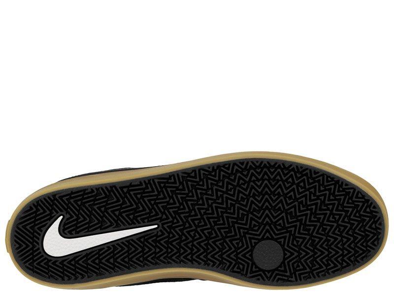 Кеды для мужчин Nike SB Check Solarsoft Canvas Black/Brown 843896-009 смотреть, 2017