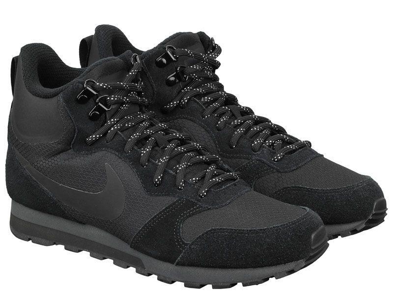 Кроссовки мужские NIKE MD RUNNER 2 MID PREM Black 844864-004 размеры обуви, 2017
