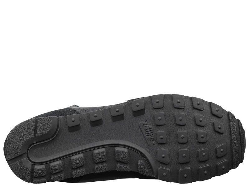 Кроссовки мужские NIKE MD RUNNER 2 MID PREM Black 844864-004 брендовая обувь, 2017