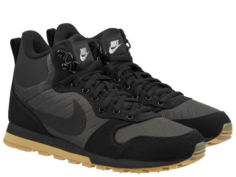 Купить Кроссовки мужские Nike MD Runner 2 Mid Premium Shoe Black 844864-006, Черный