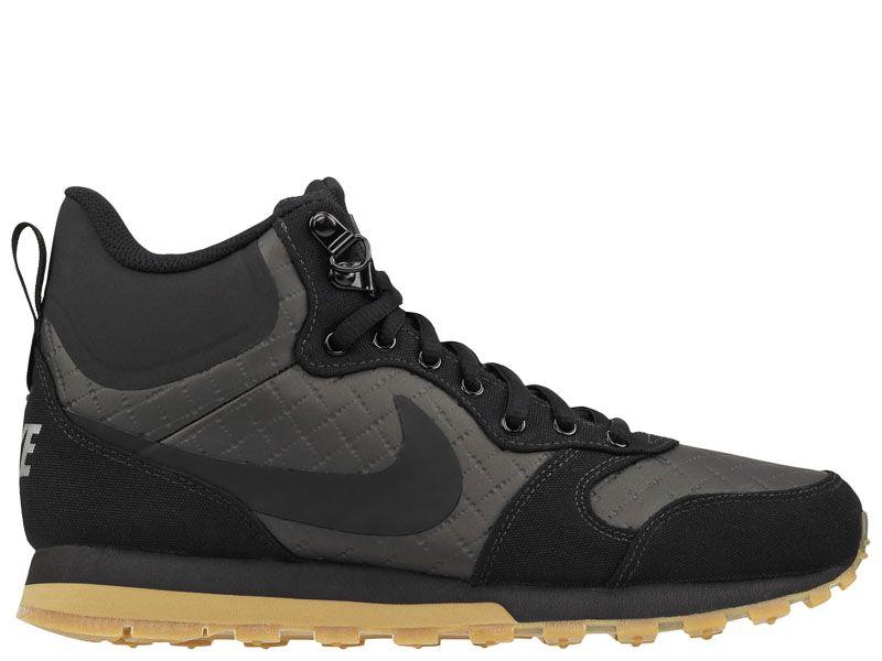 Кроссовки мужские Nike MD Runner 2 Mid Premium Shoe Black 844864-006 купить в Украине, 2017