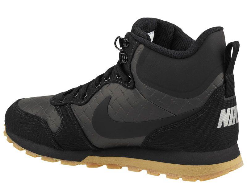 Кроссовки мужские Nike MD Runner 2 Mid Premium Shoe Black 844864-006 , 2017