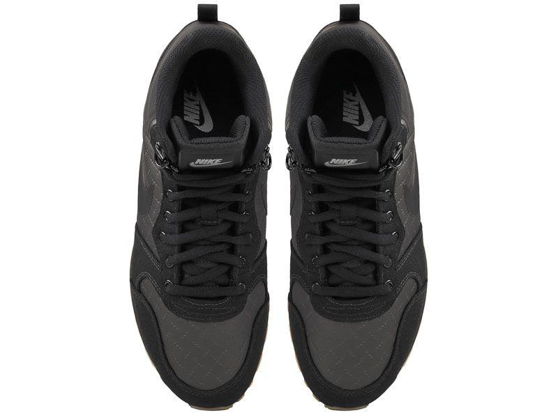 Кроссовки мужские Nike MD Runner 2 Mid Premium Shoe Black 844864-006 смотреть, 2017