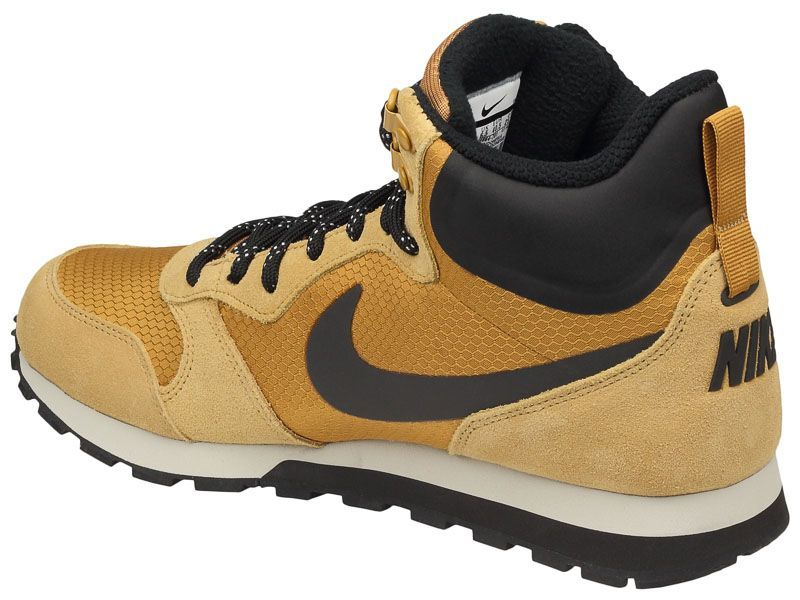 Ботинки мужские NIKE MD RUNNER 2 MID PREM Brown 844864-701 размеры обуви, 2017