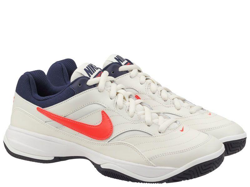 Купить Кроссовки теннисные мужские Nike Court Lite Tennis White/Blue 845021-006, Белый