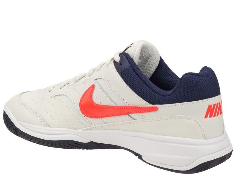 Кроссовки теннисные для мужчин Nike Court Lite Tennis White/Blue 845021-006 модные, 2017