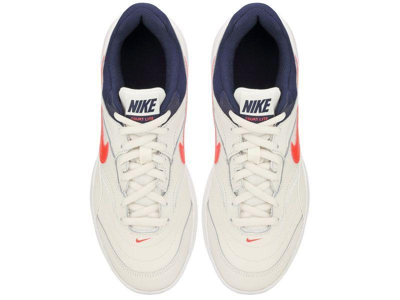 Кроссовки теннисные для мужчин Nike Court Lite Tennis White/Blue 845021-006 выбрать, 2017