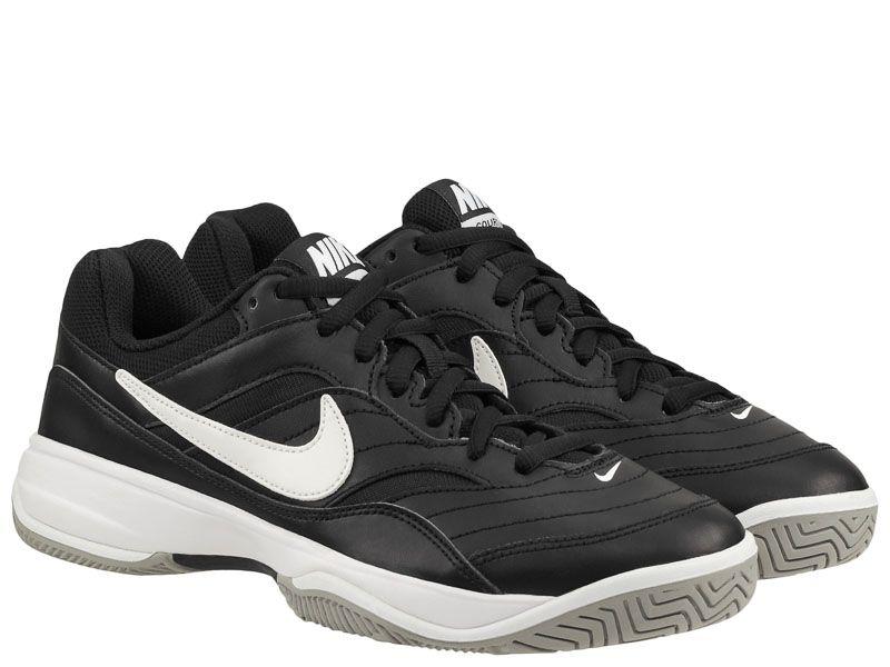 Кроссовки теннисные для мужчин Nike Court Lite Tennis Black/White 845021-010 модные, 2017
