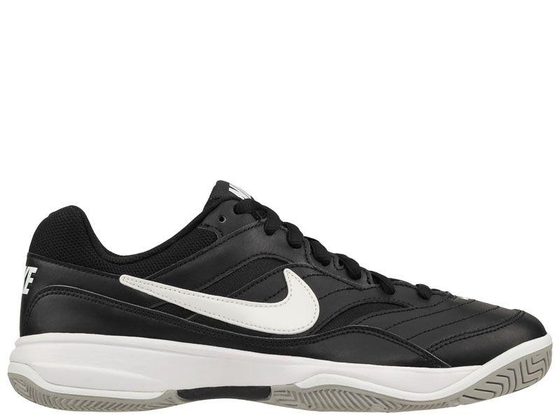 Кроссовки теннисные для мужчин Nike Court Lite Tennis Black/White 845021-010 смотреть, 2017