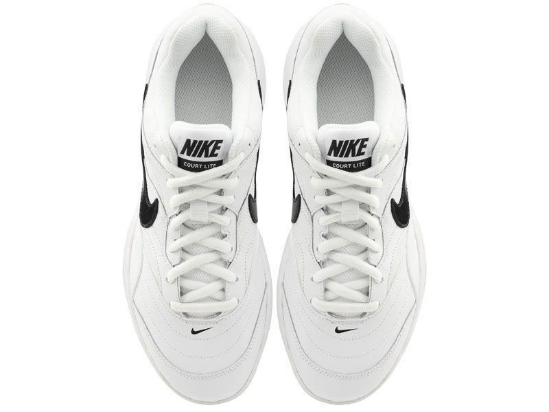 Кроссовки теннисные для мужчин Nike Court Lite Tennis White/Black 845021-100 купить онлайн, 2017