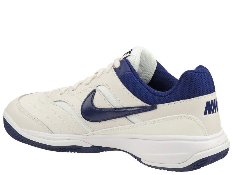 Кроссовки теннисные мужские Nike Court Lite Clay Tennis White/Blue/Orange 845026-003 купить в Интертоп, 2017