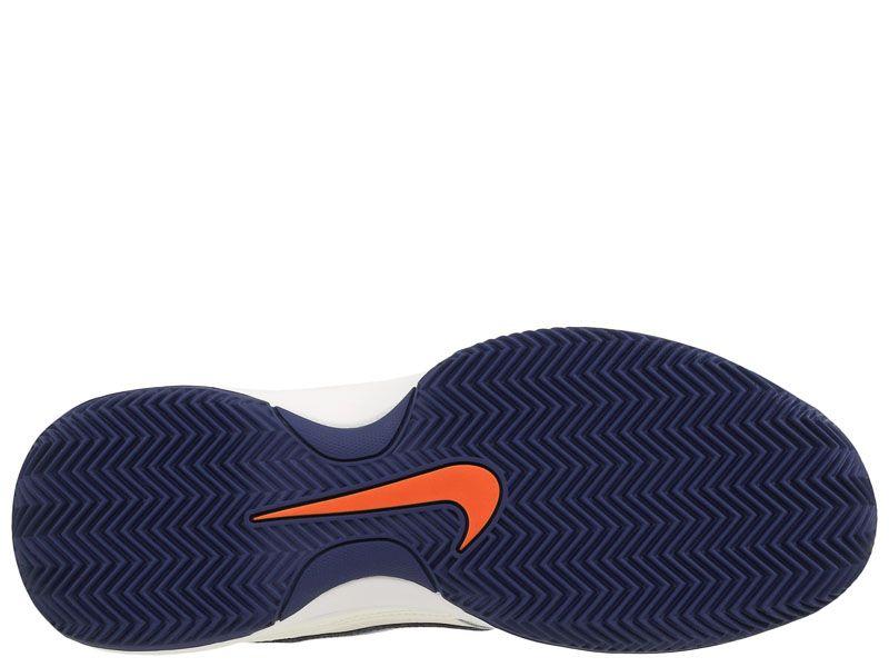 Кроссовки теннисные мужские Nike Court Lite Clay Tennis White/Blue/Orange 845026-003 продажа, 2017