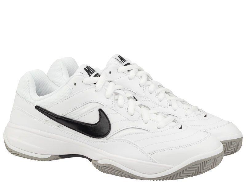 Купить Кроссовки теннисные для мужчин Nike Court Lite Clay Tennis White/Black 845026-100, Белый