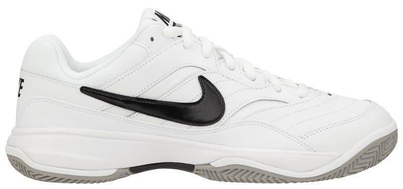 Купить Кроссовки теннисные мужские Nike Court Lite Clay Tennis White/Black 845026-100, Белый