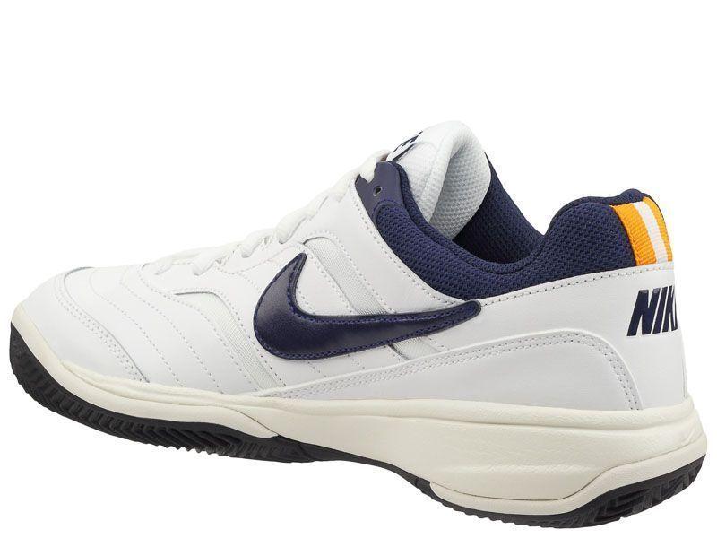 Кроссовки теннисные мужские Nike Court Lite Clay Tennis White/Blue 845026-180 цена обуви, 2017