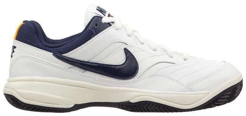 Купить Кроссовки теннисные мужские Nike Court Lite Clay Tennis White/Blue 845026-180, Белый