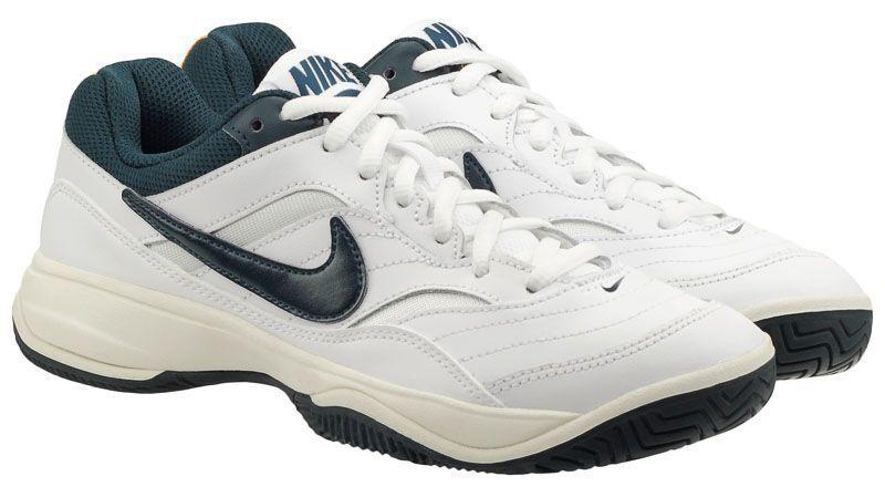 Кросівки тенісні для жінок Women s Nike Court Lite Tennis Shoe White Blue  845048-180 424c5e199ed25