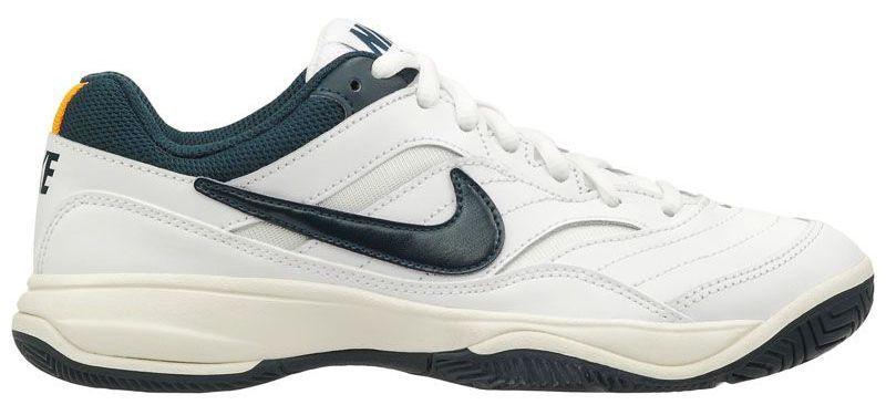 Купить Кроссовки теннисные женские Women's Nike Court Lite Tennis Shoe White/Blue 845048-180, Белый