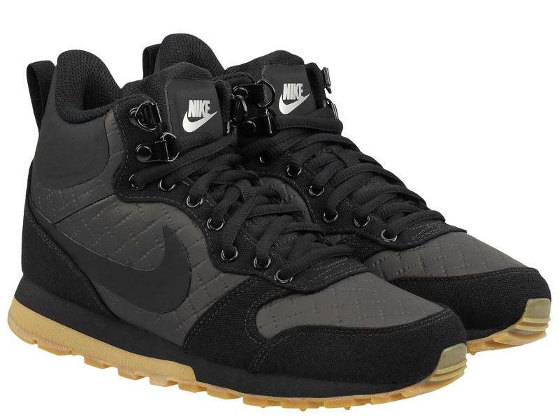 Купить Кроссовки женские Women's Nike MD Runner 2 Mid Premium Shoe Black 845059-004, Черный