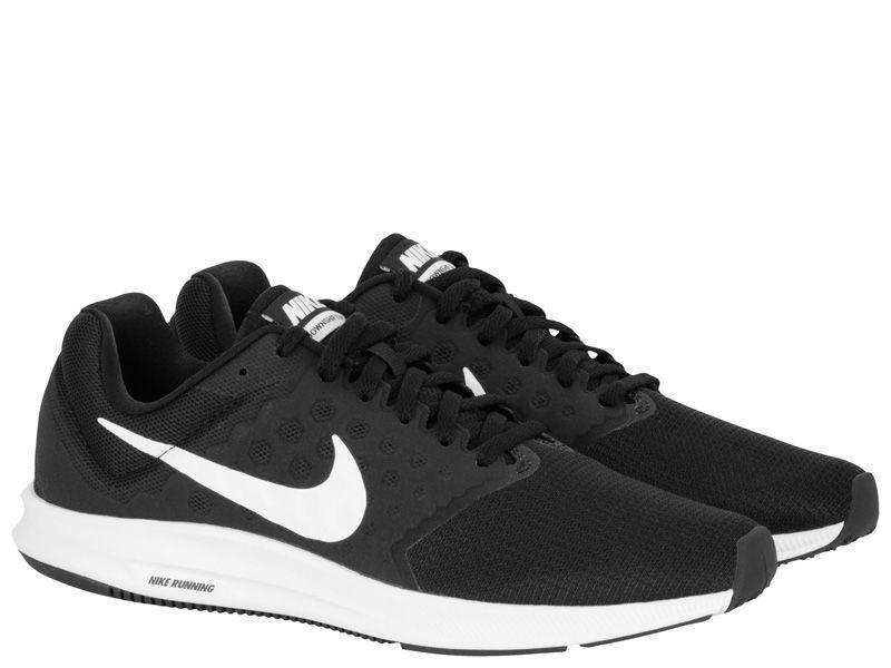 Кроссовки для мужчин NIKE DOWNSHIFTER 7 Black/White 852459-002 , 2017