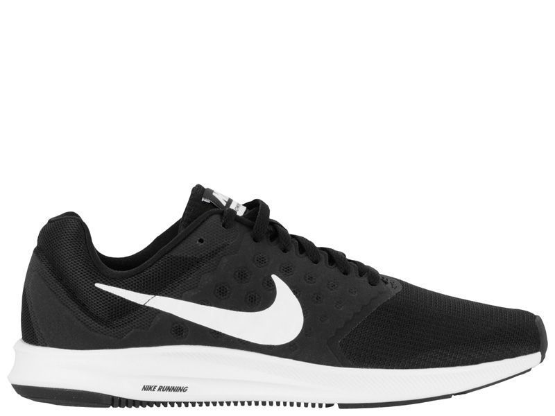 Кроссовки для мужчин NIKE DOWNSHIFTER 7 Black/White 852459-002 брендовая обувь, 2017