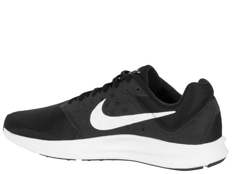 Кроссовки для мужчин NIKE DOWNSHIFTER 7 Black/White 852459-002 продажа, 2017