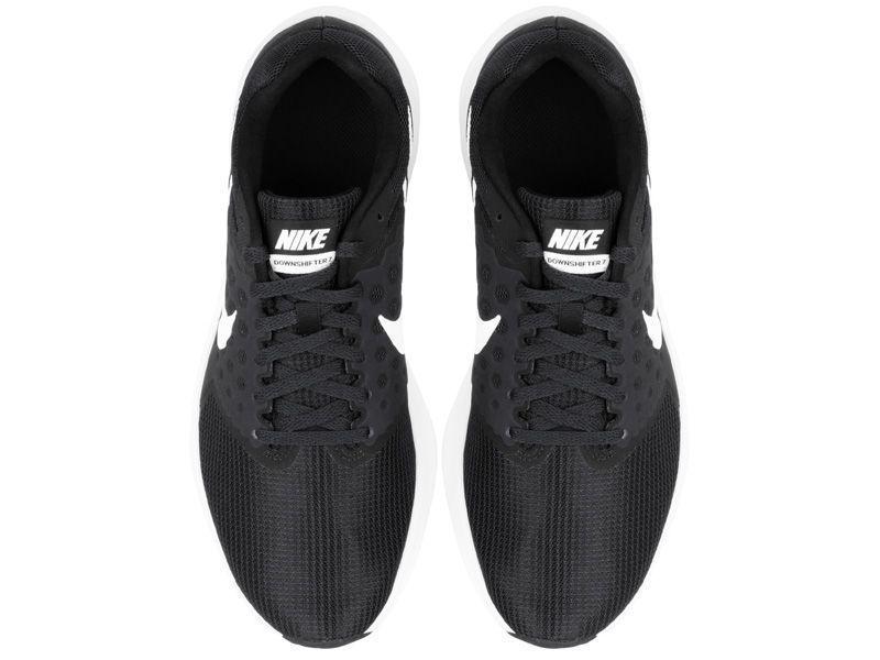 Кроссовки для мужчин NIKE DOWNSHIFTER 7 Black/White 852459-002 фото обуви, 2017