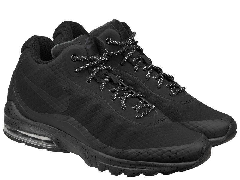 Ботинки для мужчин NIKE AIR MAX INVIGOR MID Black 858654-004 размеры обуви, 2017