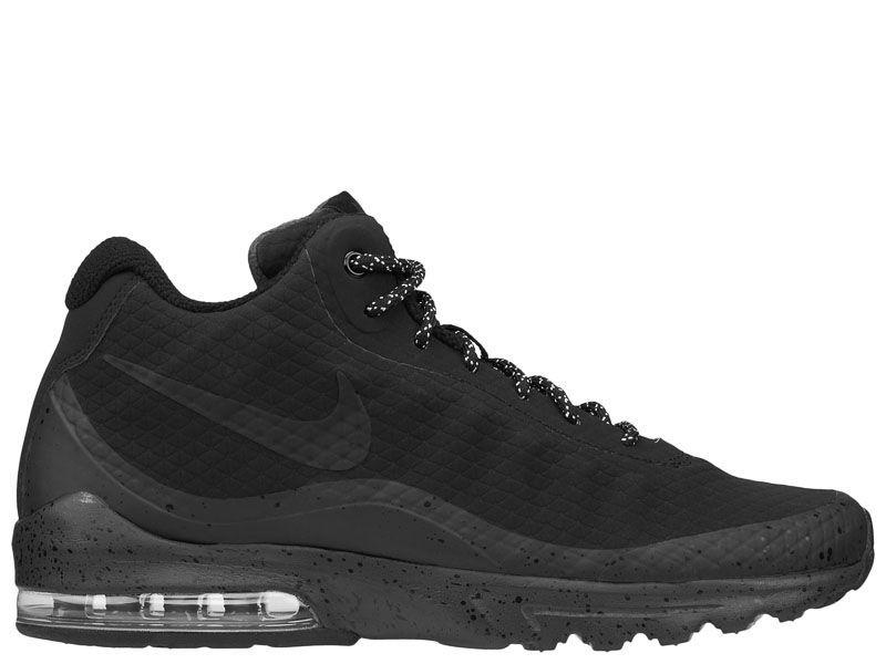 Ботинки для мужчин NIKE AIR MAX INVIGOR MID Black 858654-004 фото, купить, 2017
