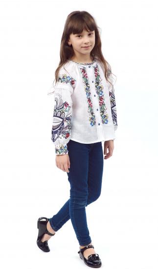 Блуза з довгим рукавом Едельвіка модель 86-19-09 — фото - INTERTOP