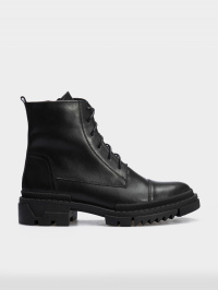 Черевики  для жінок Ботинки 86300231-1 черная кожа. Шерсть 86300231-1 купити в Україні, 2017