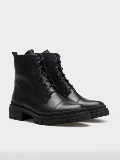Черевики  для жінок Ботинки 86300231-1 черная кожа. Шерсть 86300231-1 дивитися, 2017
