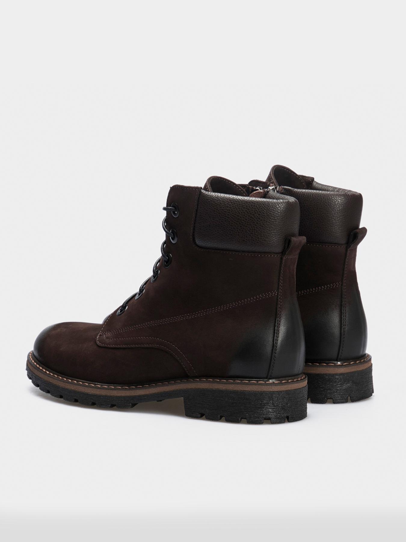 Черевики  жіночі Ботинки 874826631 коричневая кожа/нубук. Шерсть 874826631 продаж, 2017