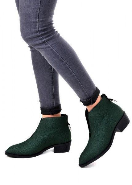 для женщин 876111 Зеленые кожаные ботильоны Modus Vivendi 876111 , 2017