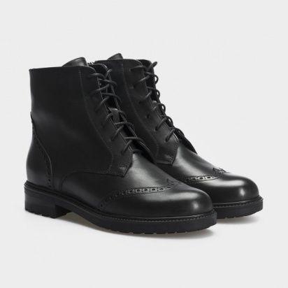 Ботинки женские Ботинки 87900231 черная кожа. Шерсть 87900231 купить в Интертоп, 2017